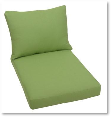 Palettenkissen grün